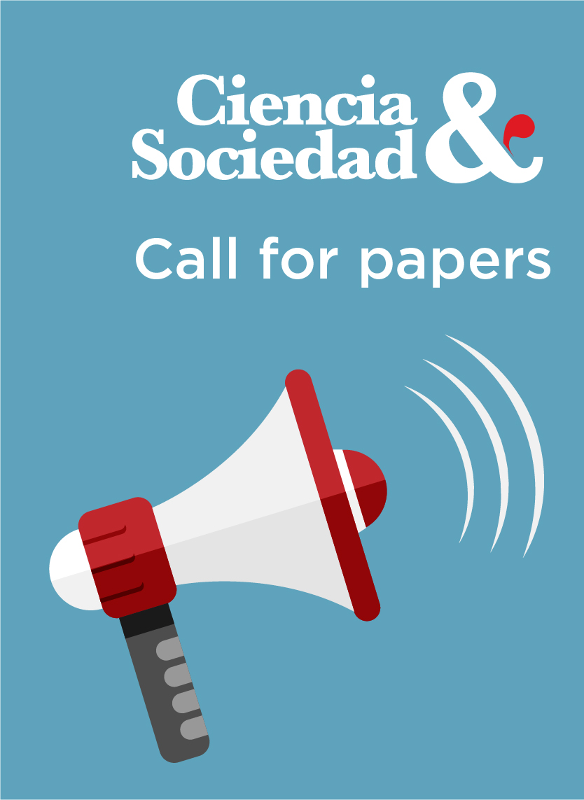 Call for papers Ciencia y Sociedad