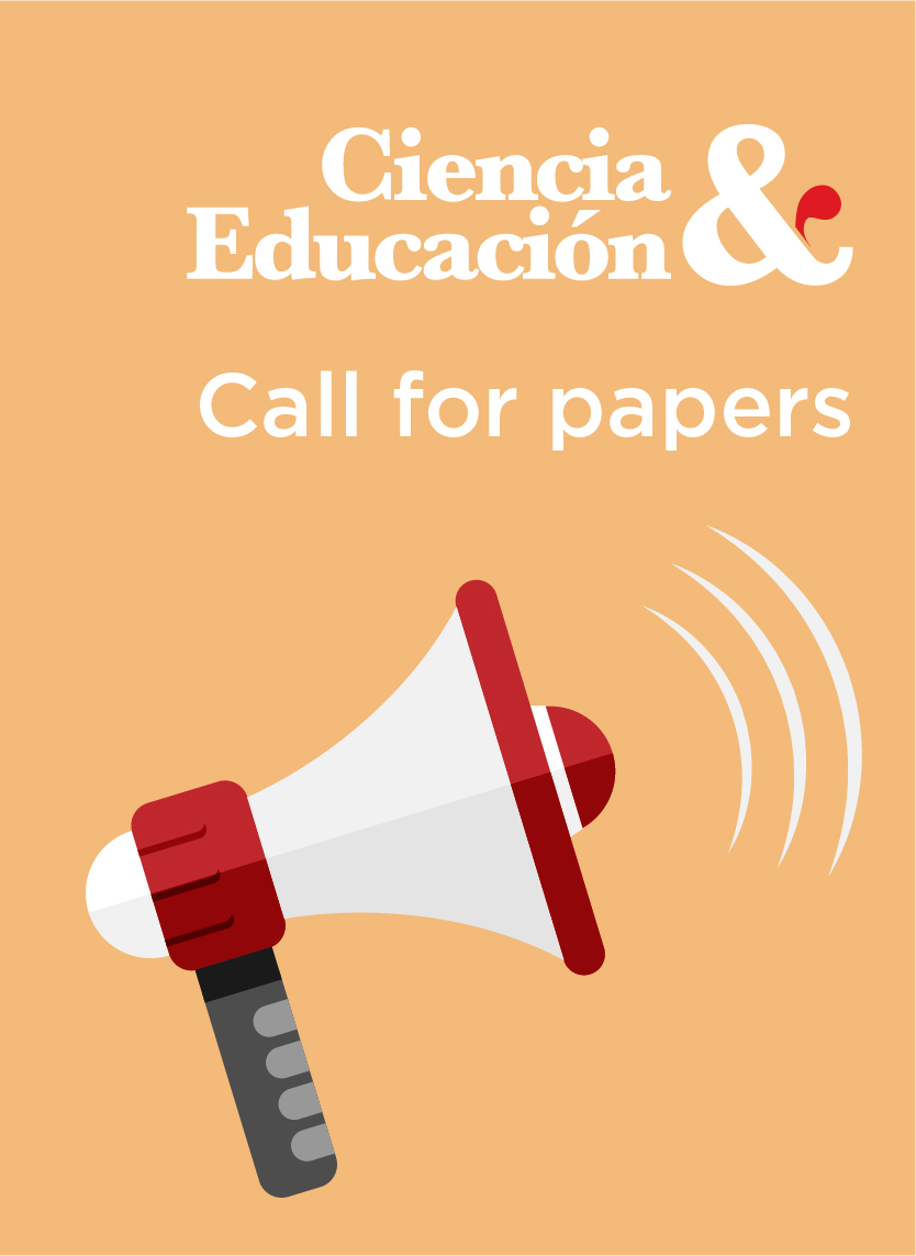 Call for papers Ciencia y Educación