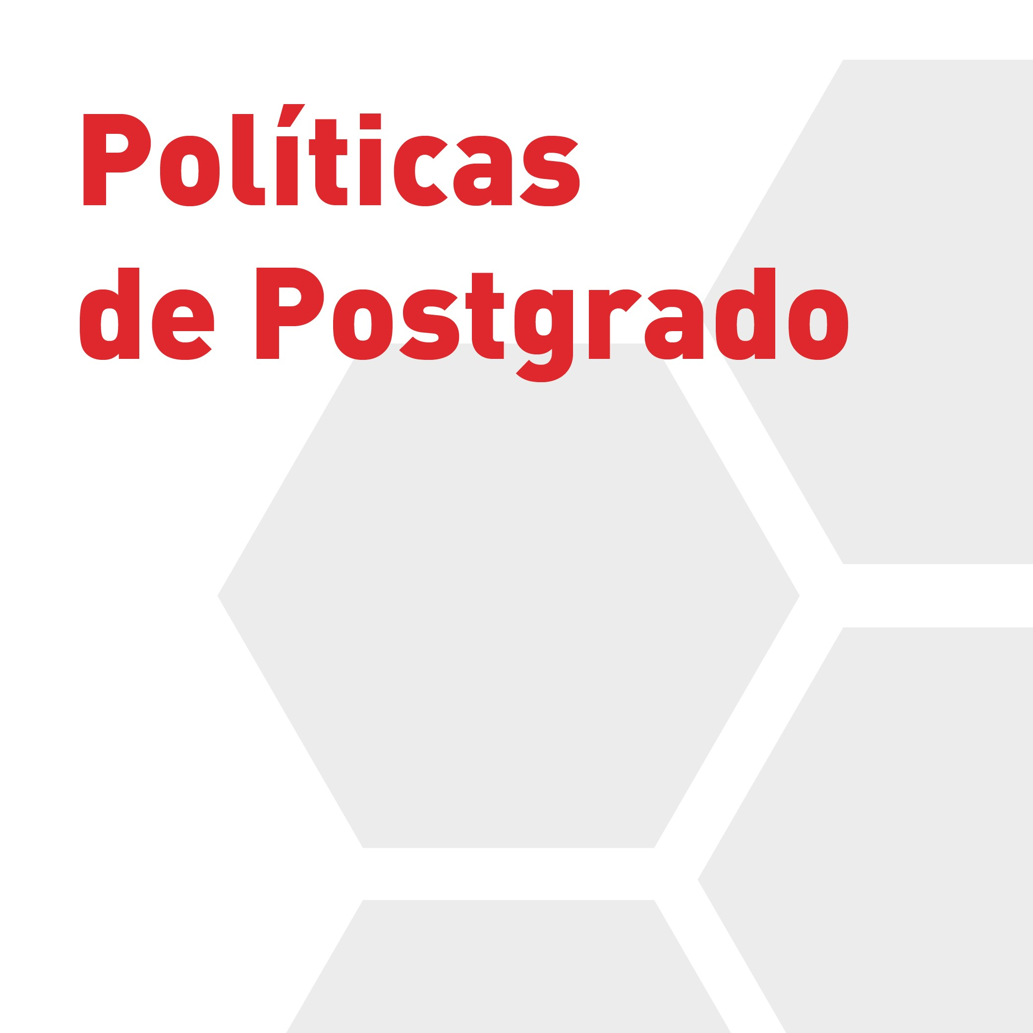 Postgraduate Policies