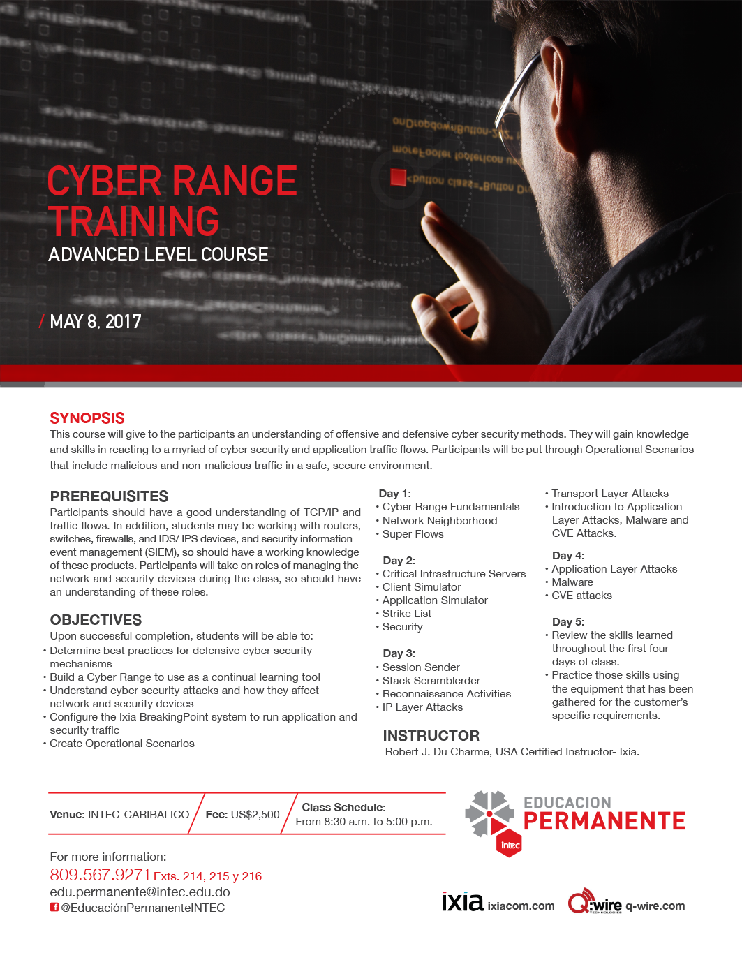 Cyber Range Trainig: Avanced Level Course