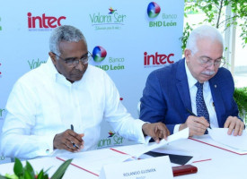 BHD León and INTEC sign agreement for training in values