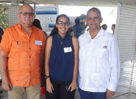 INTEC presents research in scientific congress on sargassum in Guadalupe