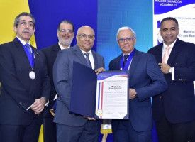 "Professor of INTEC recognized as ""Master of Dominican Surgery"""