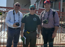 INTEC Professor conducts recognition visit to cities affected by earthquakes in Puerto Rico