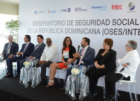 They present the first Social Security Observatory of the Dominican Republic