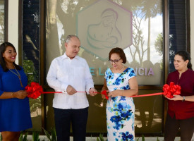 INTEC inaugurates breastfeeding room